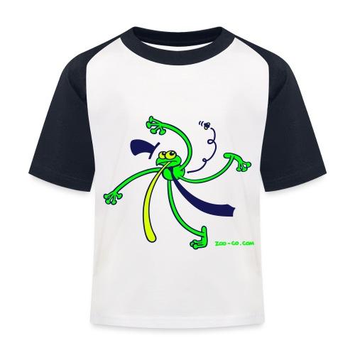 Dancing Frog - Kids' Baseball T-Shirt
