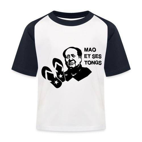 MAO et ses tongs - T-shirt baseball Enfant