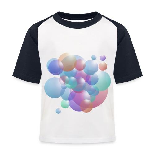 bubble - Kinder Baseball T-Shirt