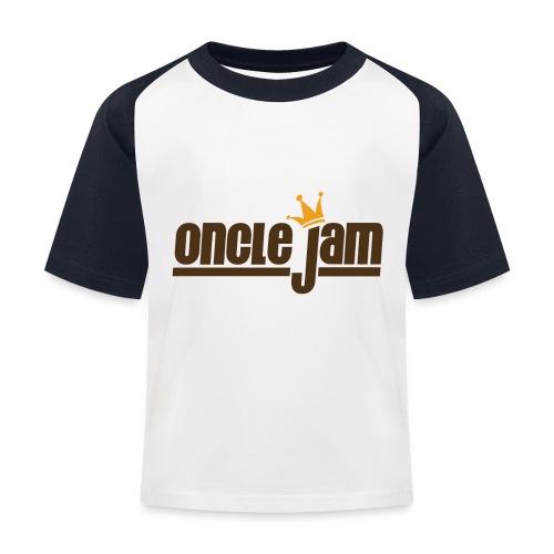 Oncle Jam horizontal brun - T-shirt baseball Enfant