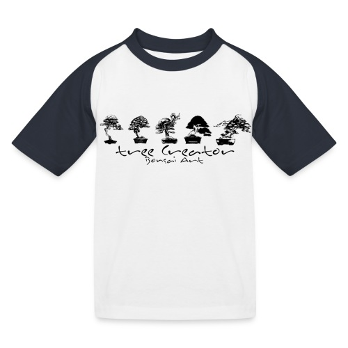 tree creator bonsa art horizon - T-shirt baseball Enfant