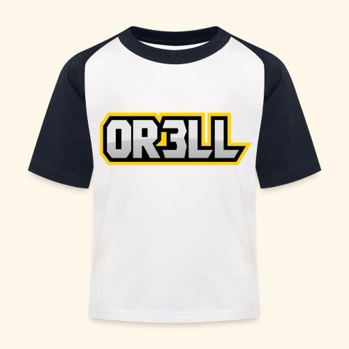orell - Kinder Baseball T-Shirt