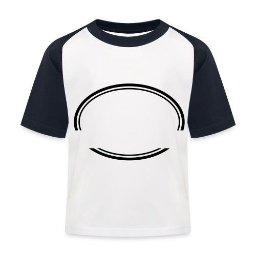 Kreis offen - Kinder Baseball T-Shirt