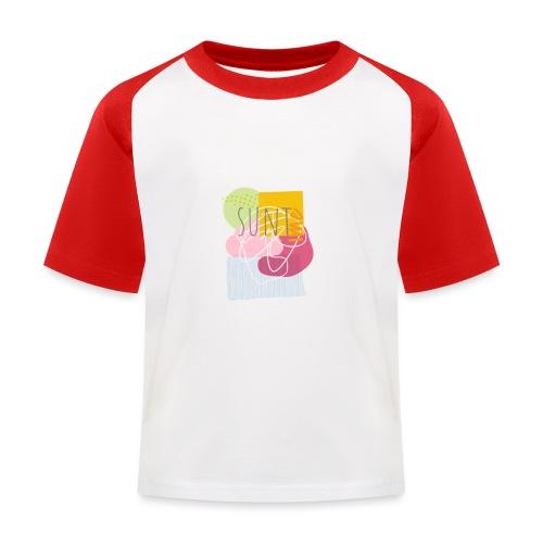 Suntime - Baseball T-shirt til børn