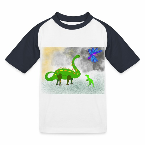 Theo & Mama - T-shirt baseball Enfant