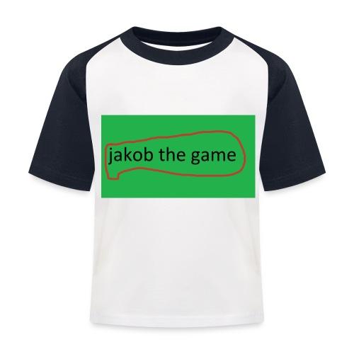 jakobthegame - Baseball T-shirt til børn