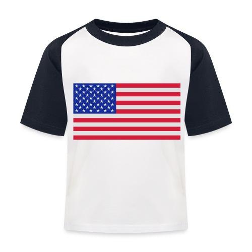 USA / United States - Kinderen baseball T-shirt