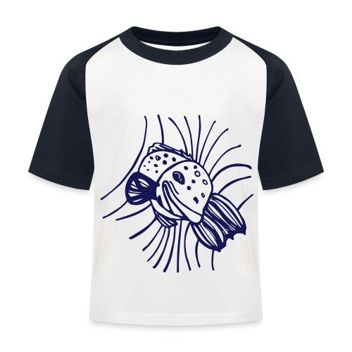 pesce1 - Maglietta da baseball per bambini