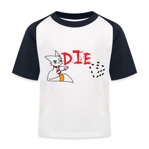 DIE - Kids' Baseball T-Shirt