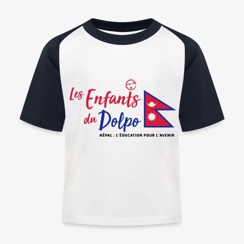 Les Enfants du Doplo - Grand Logo Centré - T-shirt baseball Enfant