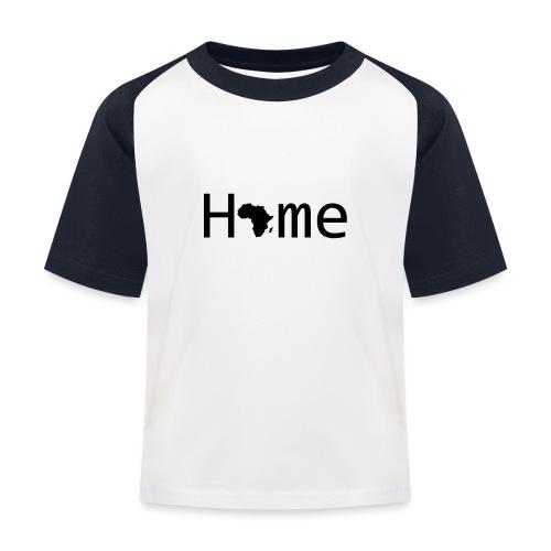 Sweet Home Africa - Kinder Baseball T-Shirt