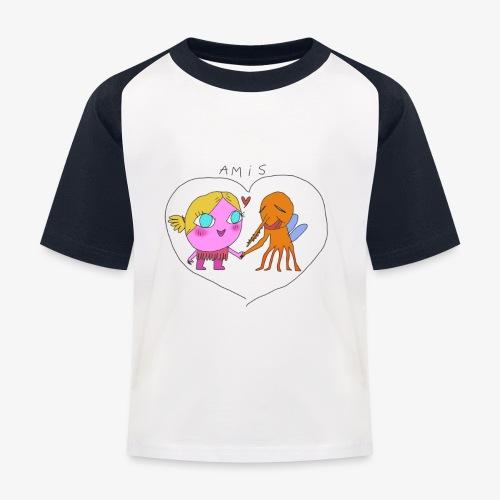les meilleurs amis - T-shirt baseball Enfant