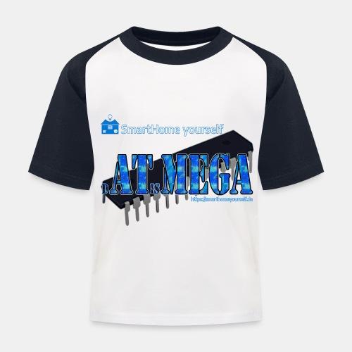 dATisMEGA - Kinder Baseball T-Shirt