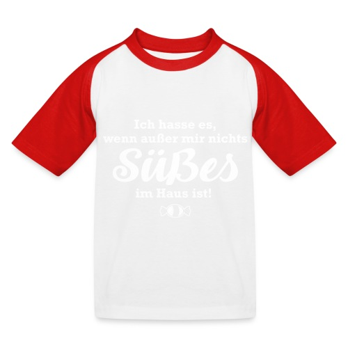 Nichts Süßes - Kinder Baseball T-Shirt