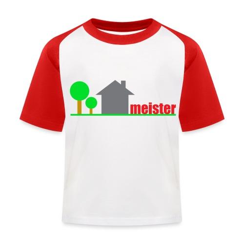 Hausmeister - Kinder Baseball T-Shirt