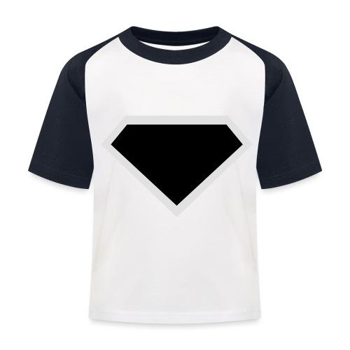 Diamond Black - Two colors customizable - Kinderen baseball T-shirt