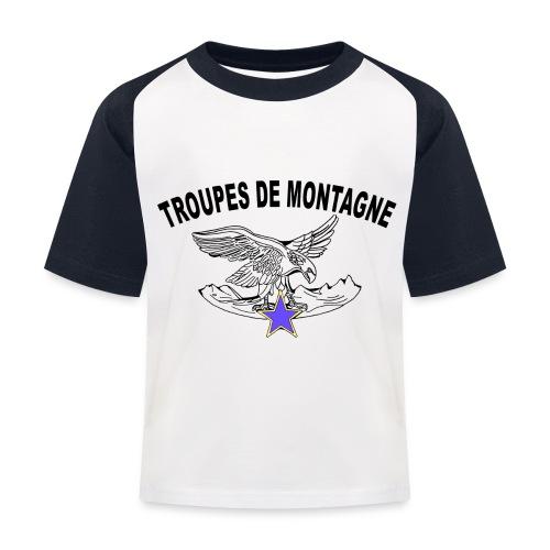 choucasTDM dos - T-shirt baseball Enfant