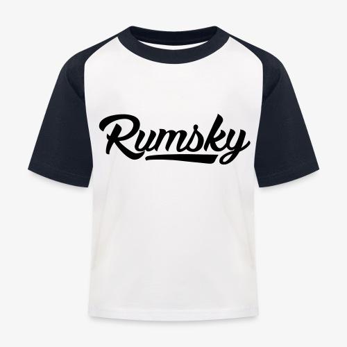 Rumsky-logo - Kinderen baseball T-shirt