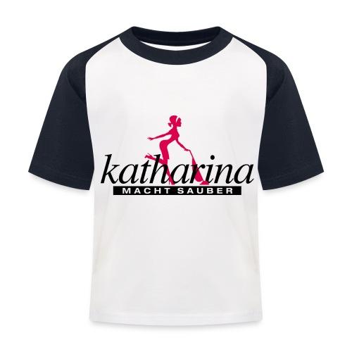 katharina - Kinder Baseball T-Shirt