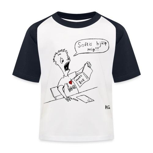 klaramattesoftis - Baseboll-T-shirt barn