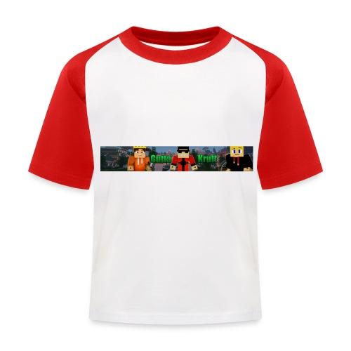 GuttaKrutt jpg - Baseball-T-skjorte for barn