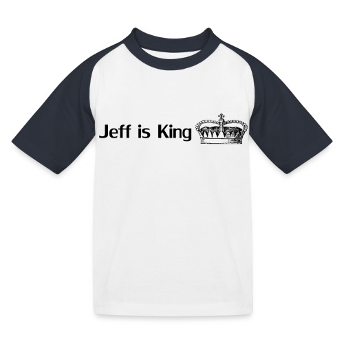 Jeff is KKKin png - Kinder Baseball T-Shirt
