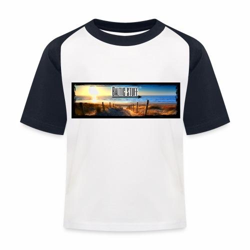 Baltic-Stuff - Kinder Baseball T-Shirt