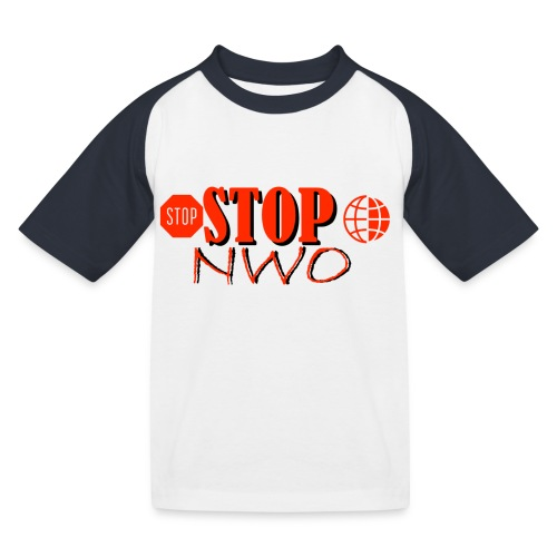STOPNWO1 - Koszulka bejsbolowa dziecięca