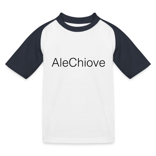 T-Shirt AleChiove - Maglietta da baseball per bambini