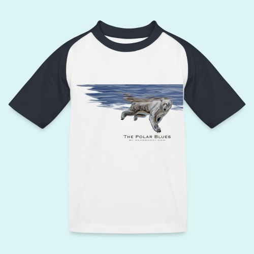 Polar-Blues-SpSh - Kids' Baseball T-Shirt