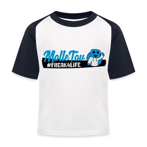 Nyt Logo4 - Baseball T-shirt til børn