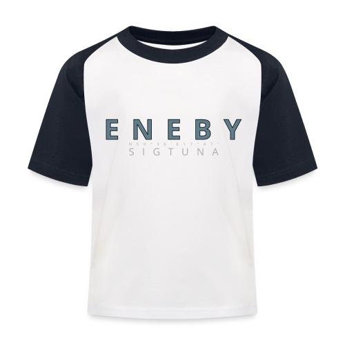Eneby Sigtuna logo - Baseboll-T-shirt barn