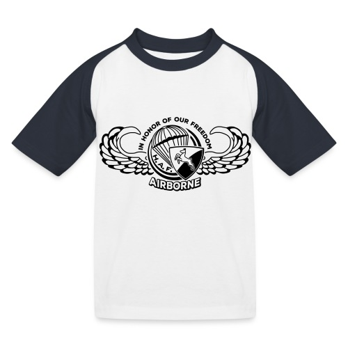 HAF tshirt back2015 - Kids' Baseball T-Shirt