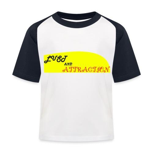 lust ans attraction - Kids' Baseball T-Shirt