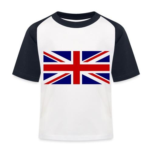 drapeau anglais - T-shirt baseball Enfant