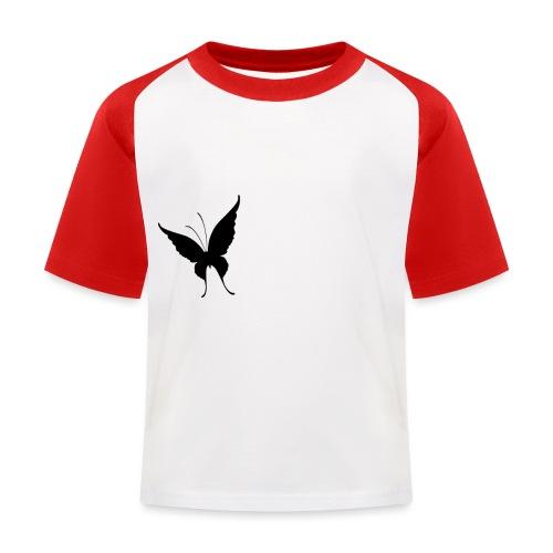 Schmetterling - Kinder Baseball T-Shirt