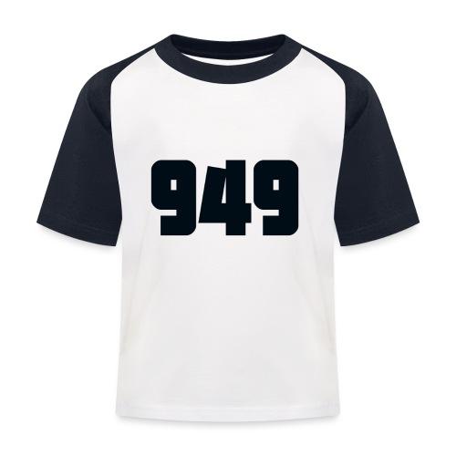 949black - Kinder Baseball T-Shirt