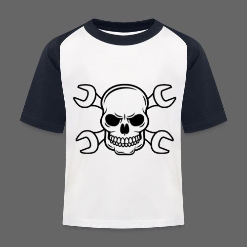 MEKKER SKULL - Baseball T-shirt til børn