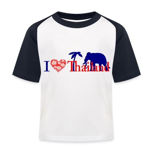 I love Thailand - Kids' Baseball T-Shirt