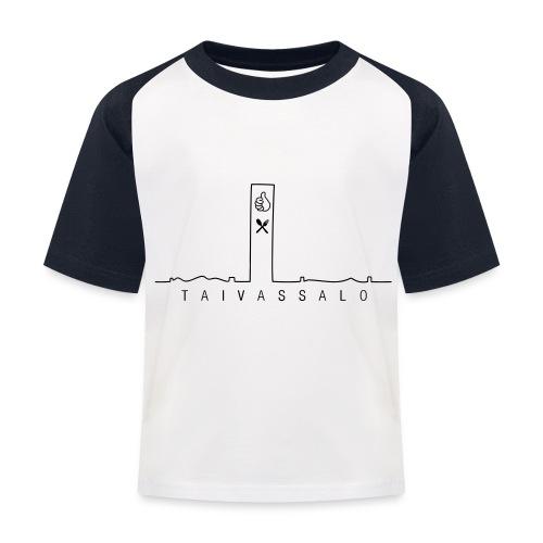 Taivassalo -printti - Lasten pesäpallo  -t-paita
