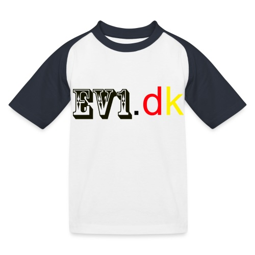 ev1 - Baseball T-shirt til børn