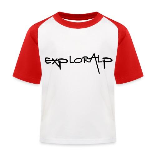 exploralp test oriz - Kids' Baseball T-Shirt