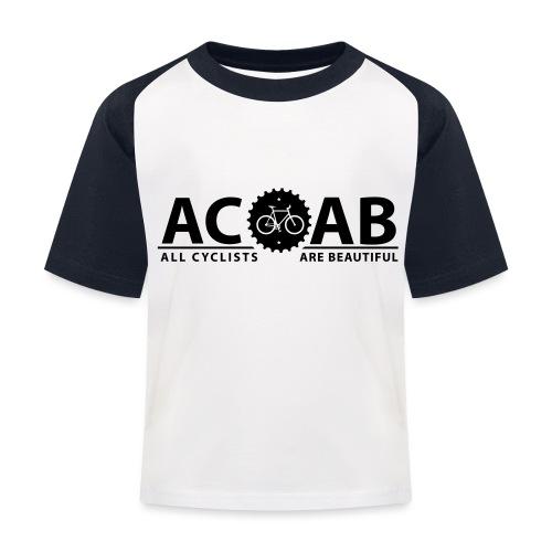 ACAB ALL CYCLISTS - Kinder Baseball T-Shirt