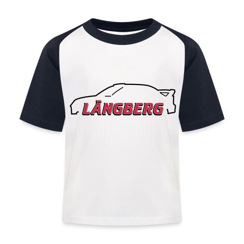 logotype Laengberg - Baseboll-T-shirt barn