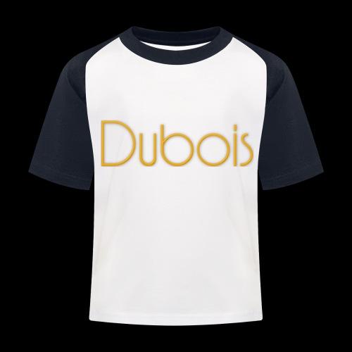 Dubois - Kinderen baseball T-shirt
