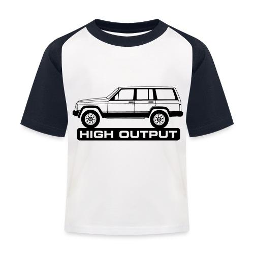 Jeep XJ High Output - Autonaut.com - Kids' Baseball T-Shirt