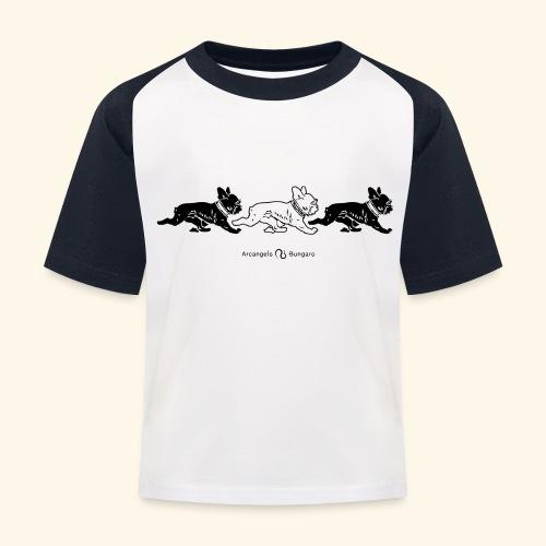 3frenchiesBW - T-shirt baseball Enfant