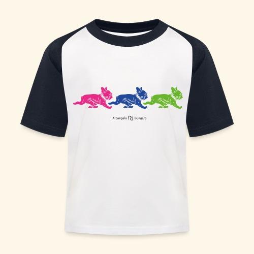 frenchies multicolor - T-shirt baseball Enfant