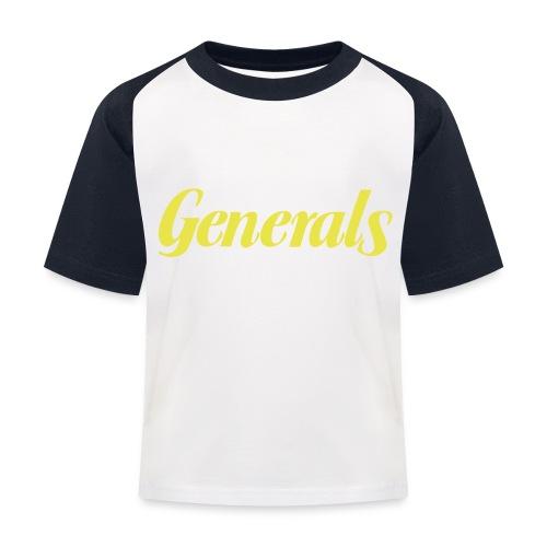 Generals - Kinder Baseball T-Shirt