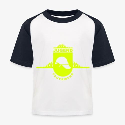 Jugend Feuerwehr - Kinder Baseball T-Shirt